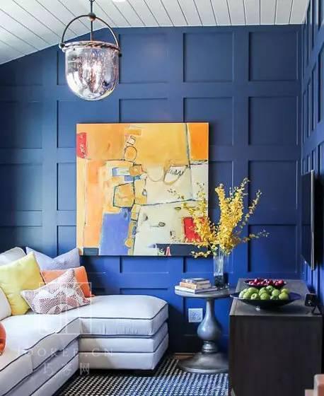 蓝色系才是室内设计色彩的no.